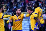 """""""Juventus"""" iškovojo eilinę pergalę """"Serie A"""" pirmenybėse"""