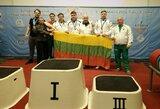 Europos jėgos trikovės čempionate D.Jevdokimovas iškovojo mažąjį bronzos medalį
