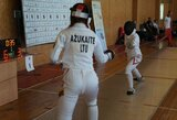 Europos jaunimo fechtavimo čempionate – ypač apmaudūs lietuvių pralaimėjimai