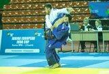 Europos jaunimo dziudo čempionatas lietuviams prasidėjo nesėkmingai