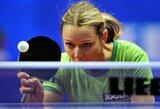 Pasaulio komandiniame stalo teniso čempionate lietuvės nugalėjo lyderes