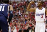 """Ch.Paulas pyksta, kad """"Clippers"""" vyr. trenerio atleidimą sieja su jo norais"""