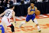 """""""Warriors"""" atsisakė NBA čempiono paslaugų"""