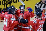 """""""Arosa Challenge"""" ledo ritulio turnyro finale susitiks šveicarai ir baltarusiai"""