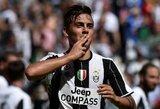 """P.Dybalos brolis atskleidė, jog yra didelė tikimybė, kad argentinietis šią vasarą paliks """"Juventus"""""""