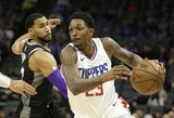 "L.Williamsas pratęsė kontraktą su ""Clippers"""