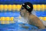 Lietuviai baigė savo pasirodymą Europos plaukimo čempionate