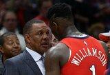 Vyresniems NBA treneriams nepatinka A.Silverio gvildenama idėja