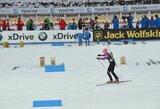 Moterų biatlono sprinto varžybose lietuvėms koją pakišo netaiklūs šūviai