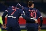 """K.Mbappe apie santykius su Neymaru: """"Visada maniau, kad geriausi žaidėjai sukurti žaisti kartu"""""""
