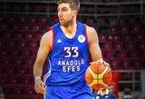 """""""Anadolu Efes"""" privertė Turkijos čempionus patirti pirmąją nesėkmę vietinėse pirmenybėse"""