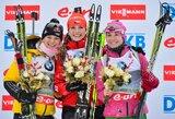 Pasaulio biatlono taurės etape netikėta G.Soukalovos pergalė