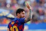 """Traumų išretinta """"Barcelona"""" sulauks pastiprinimo: į komandą sugrįš L.Messi"""