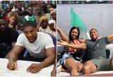 Nigerijoje besilinksminantis A.Joshua pasijautė nejaukiai po mažos mergaitės klausimo