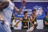Triuškinamą pranašumą iššvaistę aštuoniolikmečiai išgyveno dramatišką rungtynių pabaigą ir pateko į Europos čempionato ketvirtfinalį