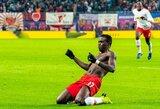 "Vokietija: ""Leipzig"" vėlyvu įvarčiu išplėšė pergalę prieš ""Werder"""
