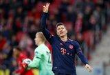 """Pergalę iškovoję """"Bayern"""" susigrąžino pirmą vietą Vokietijoje"""