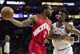 """Įspūdingai žaidęs K.Leonardas padėjo """"Raptors"""" susigrąžinti namų arenos pranašumą"""