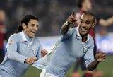 """""""Lazio"""" toliau skina pergales Italijos čempionate"""