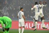 """""""Lyon"""" įveikė """"Nice"""" futbolininkus"""