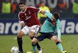 """UEFA Čempionų lygos apžvalga: """"Milan"""" – """"Barcelona"""""""
