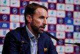 """Anglijos rinktinės strategas G.Southgate'as paneigė susijusius gandus su """"Tottenham"""""""