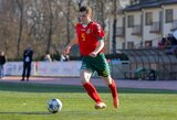 """U-19 futbolo rinktinės gynėjas L.Čerkauskas: """"Kad galėčiau treniruotis, pamelavau, kad man septyneri"""""""