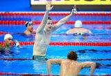 Įspūdinga: D.Rapšys pasiekė šešerius metus plaukimo pasaulyje neregėtą rezultatą