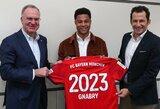 """S.Gnabry pasirašė naują sutartį su """"Bayern"""""""