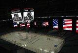 NHL persigalvojo ir nukėlė dviejų dienų atkrintamųjų rungtynes
