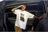 """Pamatykite: J.Bieberis išsigando kovos su T.Cruise'u, C.McGregoras nusiskuto """"firminę"""" barzdą"""