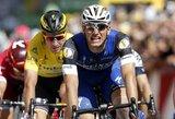 """M.Kittelis laimėjo ketvirtąjį """"Tour de France"""" etapą, pasaulio čempionas tolsta nuo persekiotojų"""