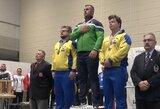 Pasaulio rekordą pagerinęs A.Paulauskas Europos štangos spaudimo čempionate iškovojo aukso medalį