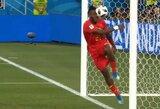 Juokas – garantuotas: komandos draugo įvarčiu džiaugęsis M.Batshuayi pataikė sau kamuoliu į galvą