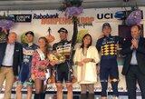 A.Kruopis šventė pergalę dviračių lenktynėse Olandijoje