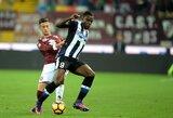 """Italijoje J.Hartas nuginkluotas dukart, bet """"Torino"""" sugebėjo nepralaimėti"""