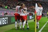 """Vokietijoje – triuškinama """"RB Leipzig"""" pergalė"""