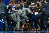 """""""Timberwolves"""" nori, kad NBA atkreiptų dėmesį į B.Simmonso elgesį konflikto metu"""