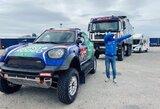 V.Žala Dakaro techniką pristatė į Marselio uostą