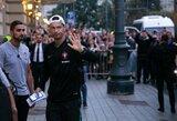 Pamatykite: C.Ronaldo atvyko į Lietuvą