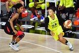 """Šių metų WNBA čempionės pagyros J.Jocytei: """"Ji labai šaltakraujiška ir techniška"""""""