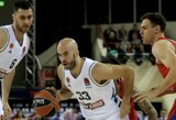 """30 M.Jameso taškų CSKA neišgelbėjo: N.Calathesas išdalino 17 rezultatyvių perdavimų, išplėšė pratęsimą, o """"Panathinaikos"""" palaužė Eurolygos čempionus"""