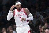 C.Anthony agentai kalbasi su kitomis NBA komandomis