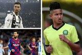TOP-10: turtingiausi futbolininkai pasaulyje