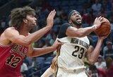 """Įspūdingai pirmajame kėlinyje pasirodžiusi aukštaūgio tandemo vedama """"Pelicans"""" patyrė pralaimėjimą"""