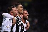 """Italijos čempionus nuo pralaimėjimo prieš """"Inter"""" išgelbėjo C.Ronaldo"""