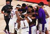 """Neįtikėtina: po NBA finalo į viešbutį pajudėjusi """"Lakers"""" arenoje paliko Q.Cooką"""