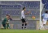 """Pirmi įvartį praleidę """"Lazio"""" futbolininkai sugebėjo atsitiesti per 9 minutes"""