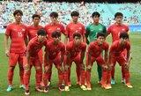 Kelialapius į pasaulio čempionatą išsikovojo Pietų Korėja ir Saudo Arabija