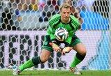 Tragiškai kamuolį išmetęs M.Neueris vos nepridarė rimtų problemų Vokietijos rinktinei